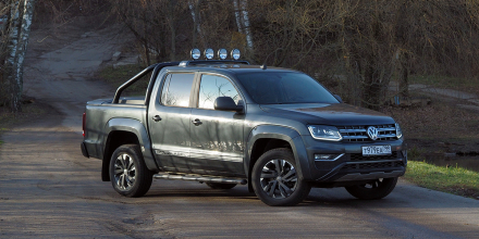 Volkswagen Amarok Dark Label (3027): Темная метка