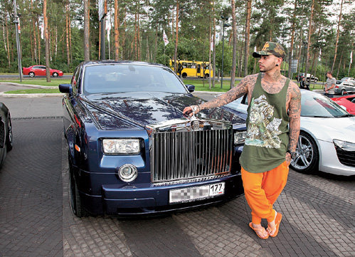 Rolls Royce Phantom Тимати