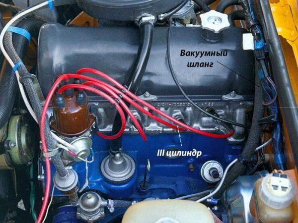 «Троит» двигатель ВАЗ 2107