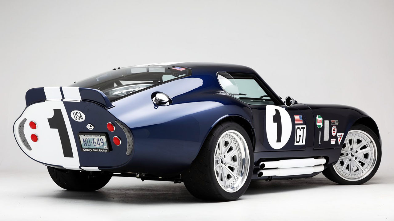 Shelby Daytona Coupe 1963 Вид Сзади