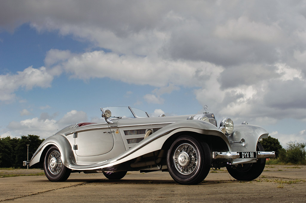 14. Mercedes-Benz 540 K Special Roadster 1934 года.