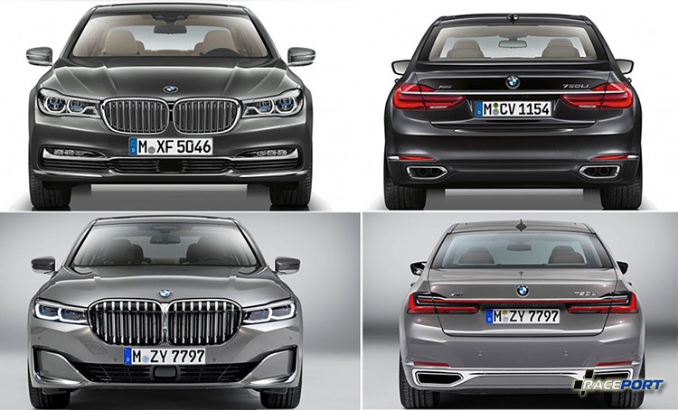 BMW G11 G12 Facelift Restyling 2018