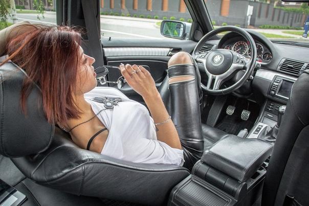 Отодрал Красотку Которая Впервые Села За Руль Своего Автомобиля