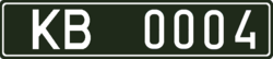 License plates of Ukraine for military volunteers.png