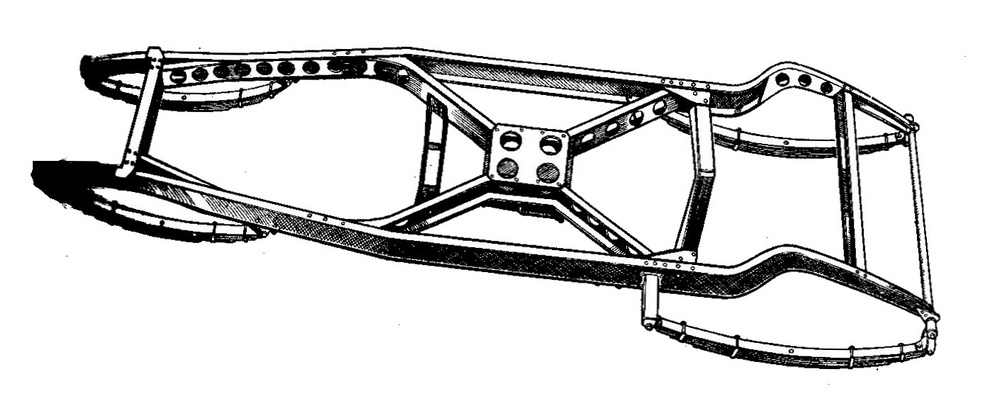 1Developed_ladder_chassis_with_diagonal_cross-bracing_and_lightening_holes_(Autocar_Handbook,_13th_ed,_1935).jpg